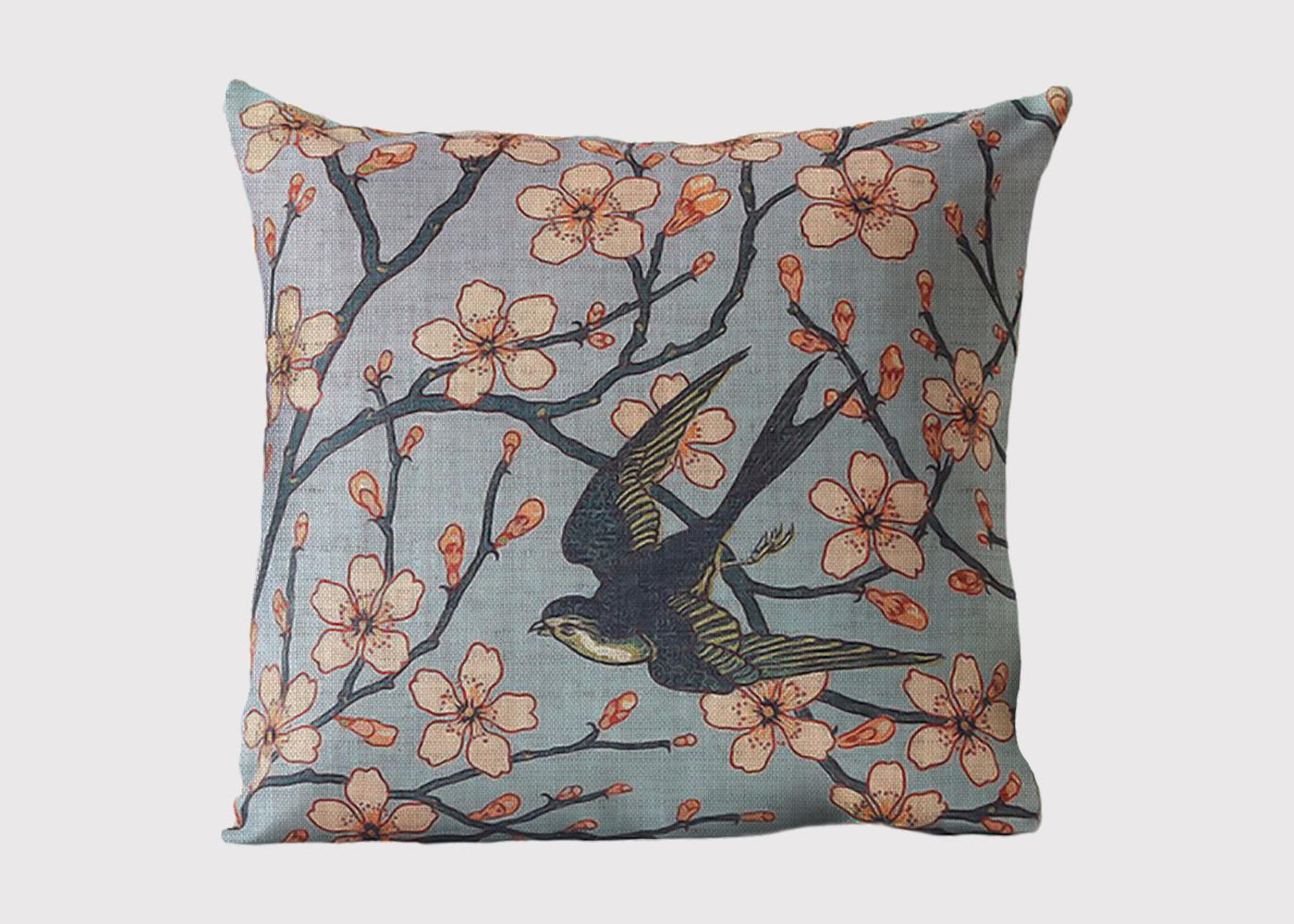 Spring Swallow Cushion