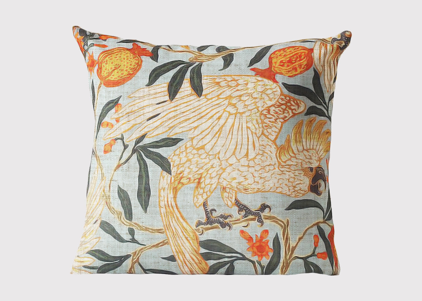 Spring Cockatoo Cushion