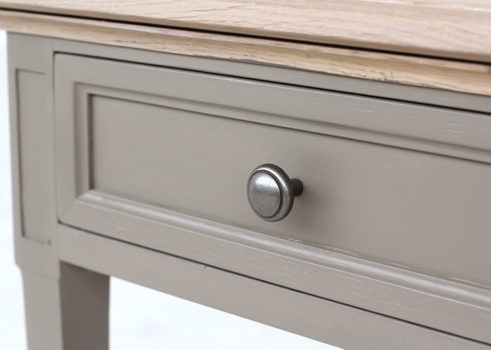 elegant lamp table handle detail