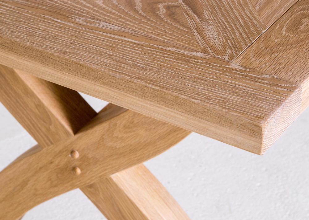 Harwood 6ft Oak Dining Table Jasper Amp Tallow Furniture