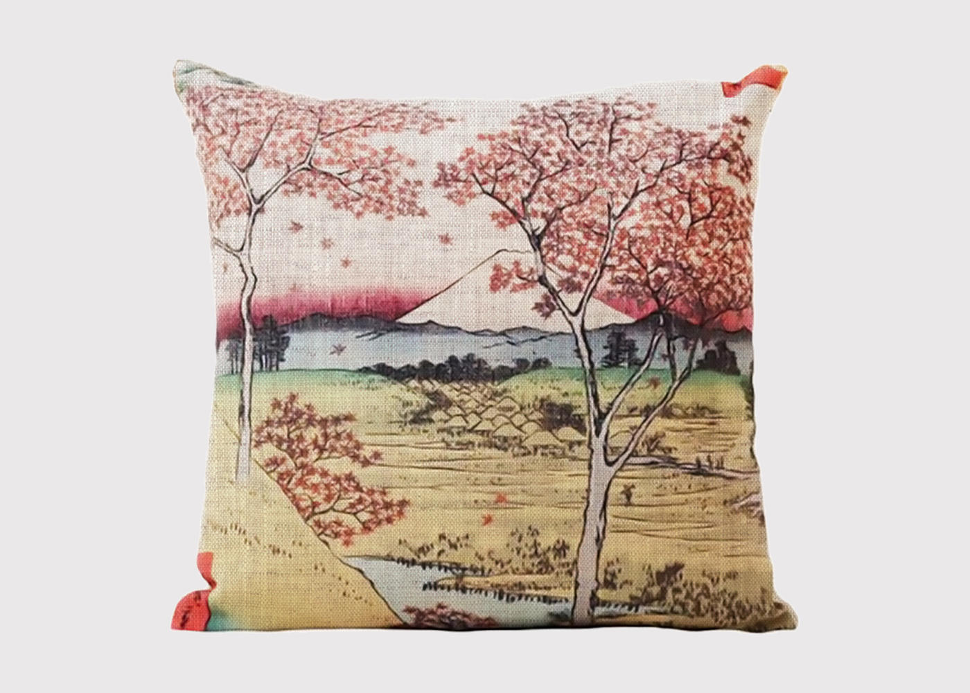 Japanese Landscape Cushion