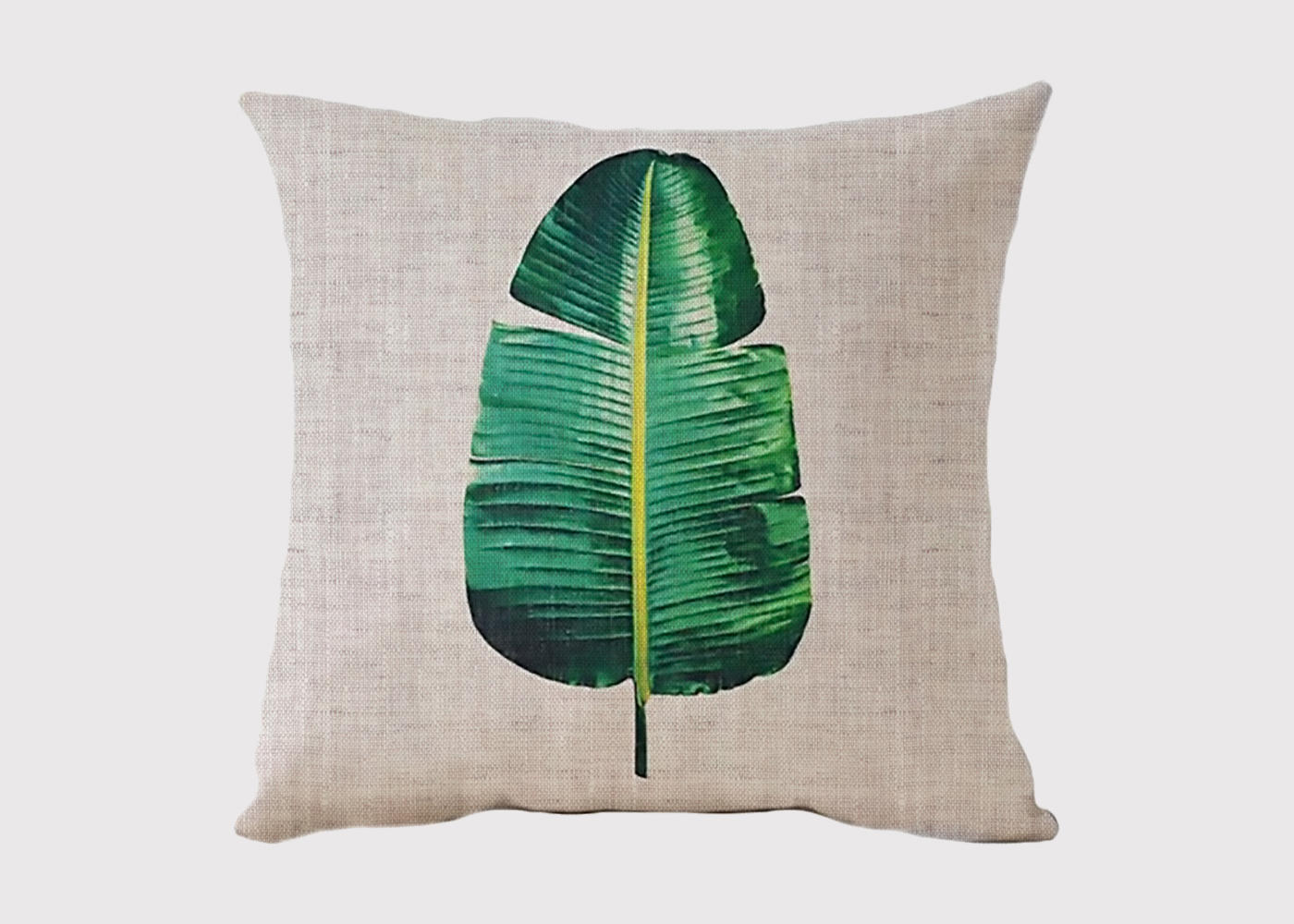 Vivid Leaf Cushion