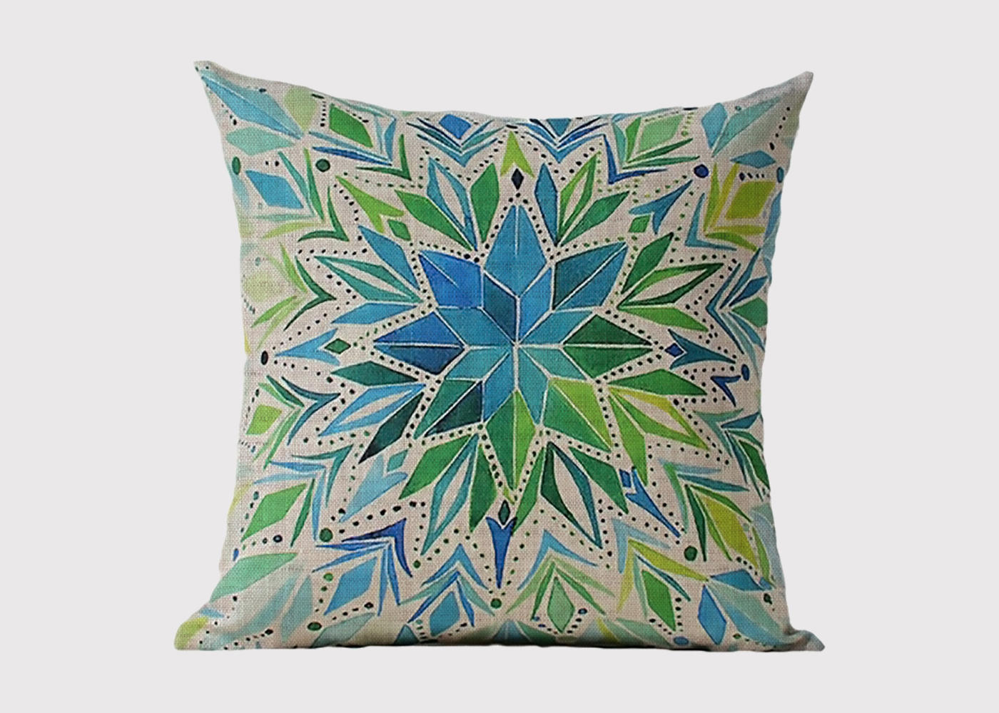Marine Blossom Cushion
