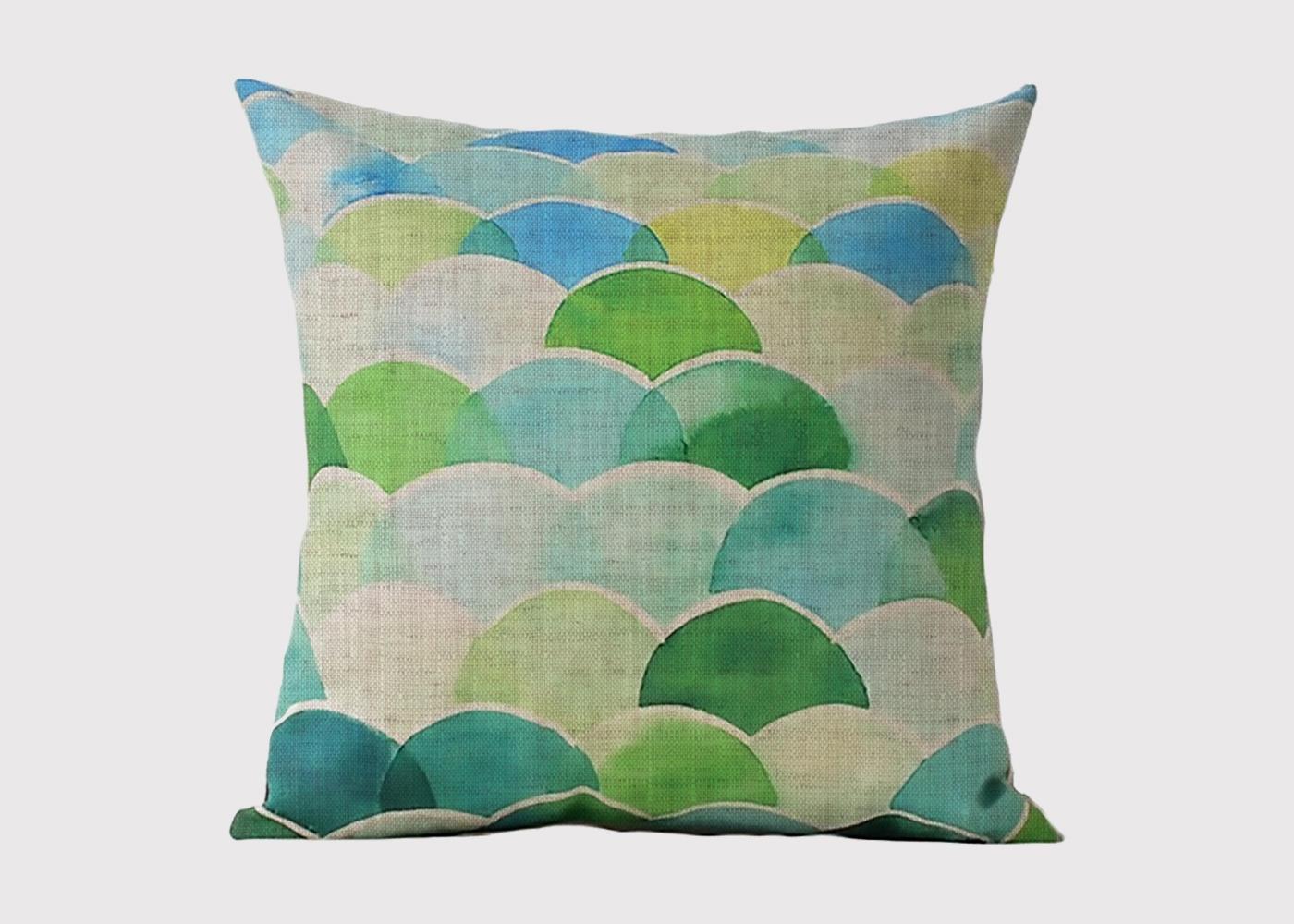 Marine Bubble Cushion