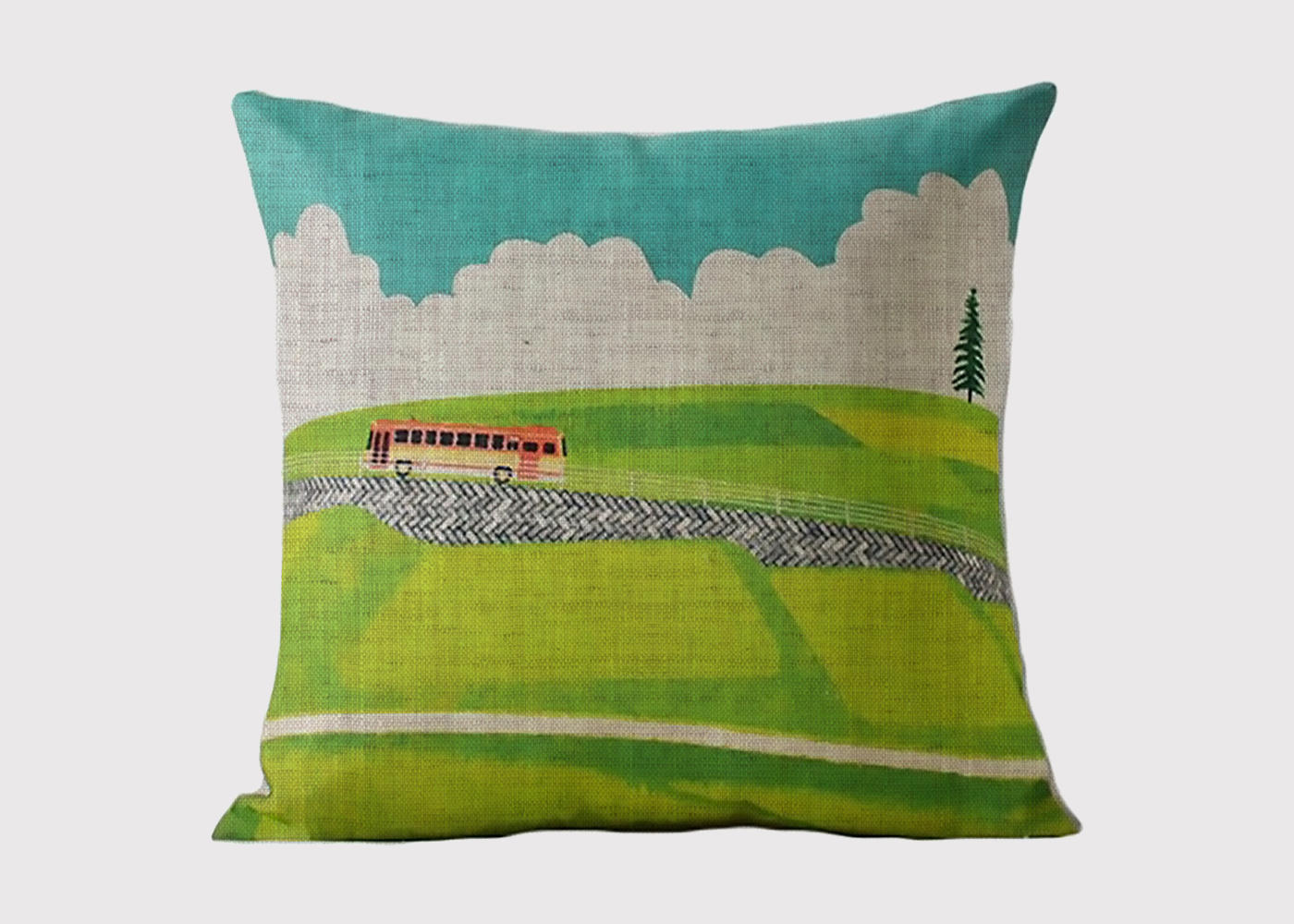 Nordic Bus Ride Cushion