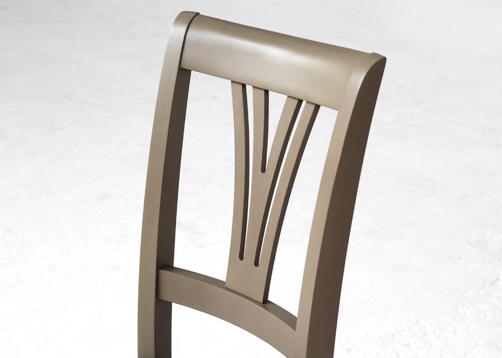 statesman dining chair back design detail
